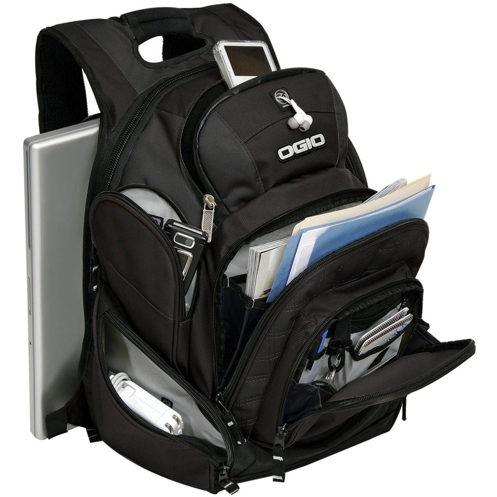 OGIO Black Mastermind Backpack