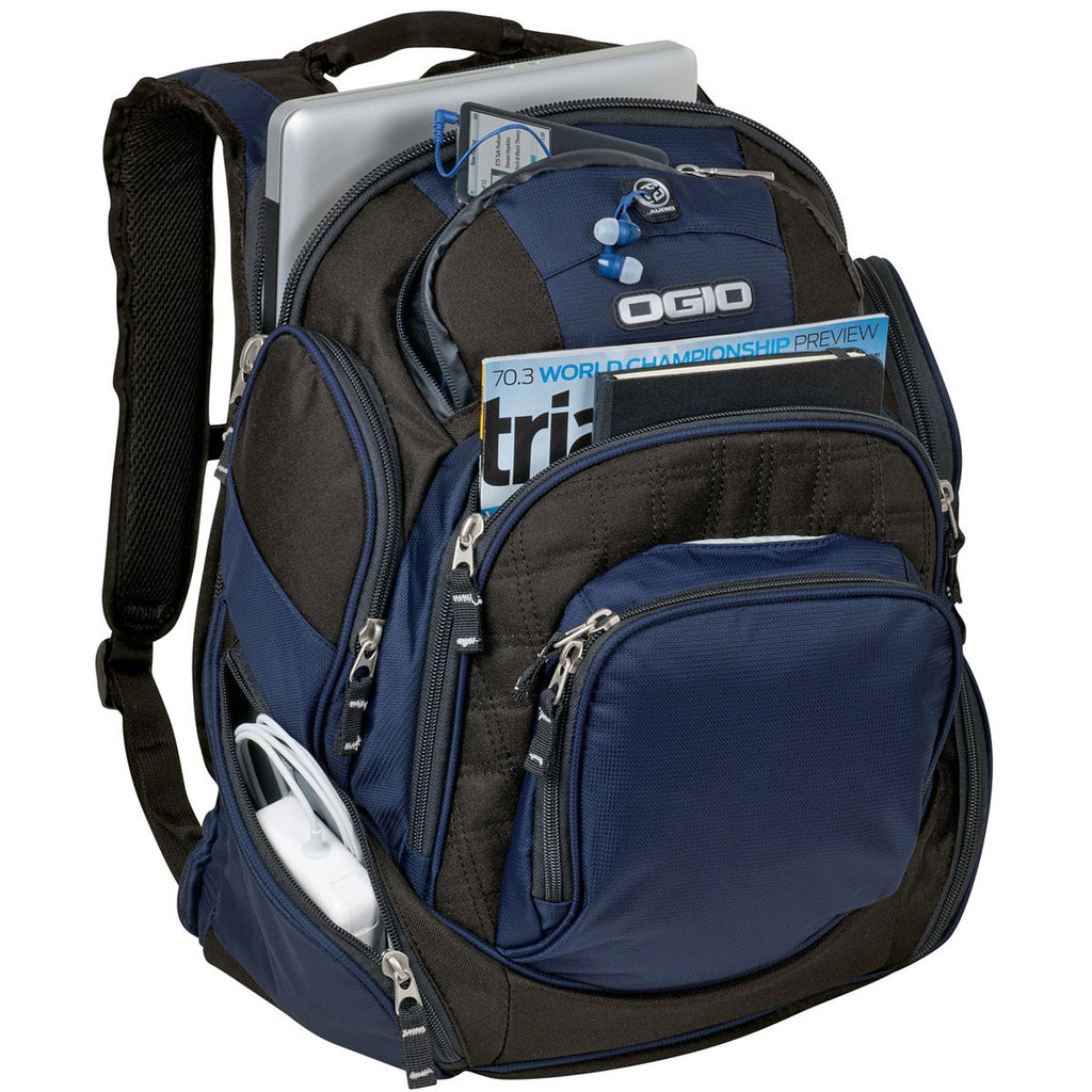 OGIO Navy Mastermind Backpack