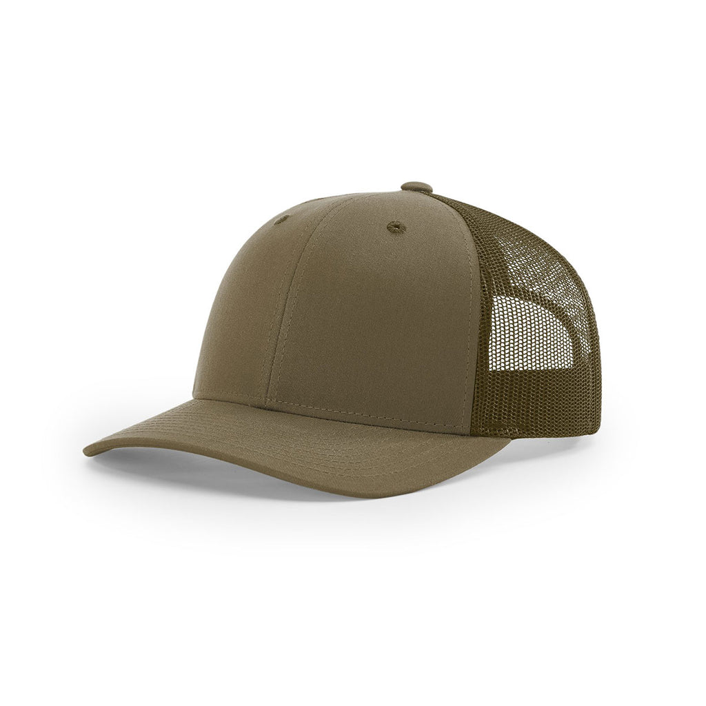 24273c5d6a7e1 Richardson Loden Mesh Back Solid Low Pro Trucker Hat