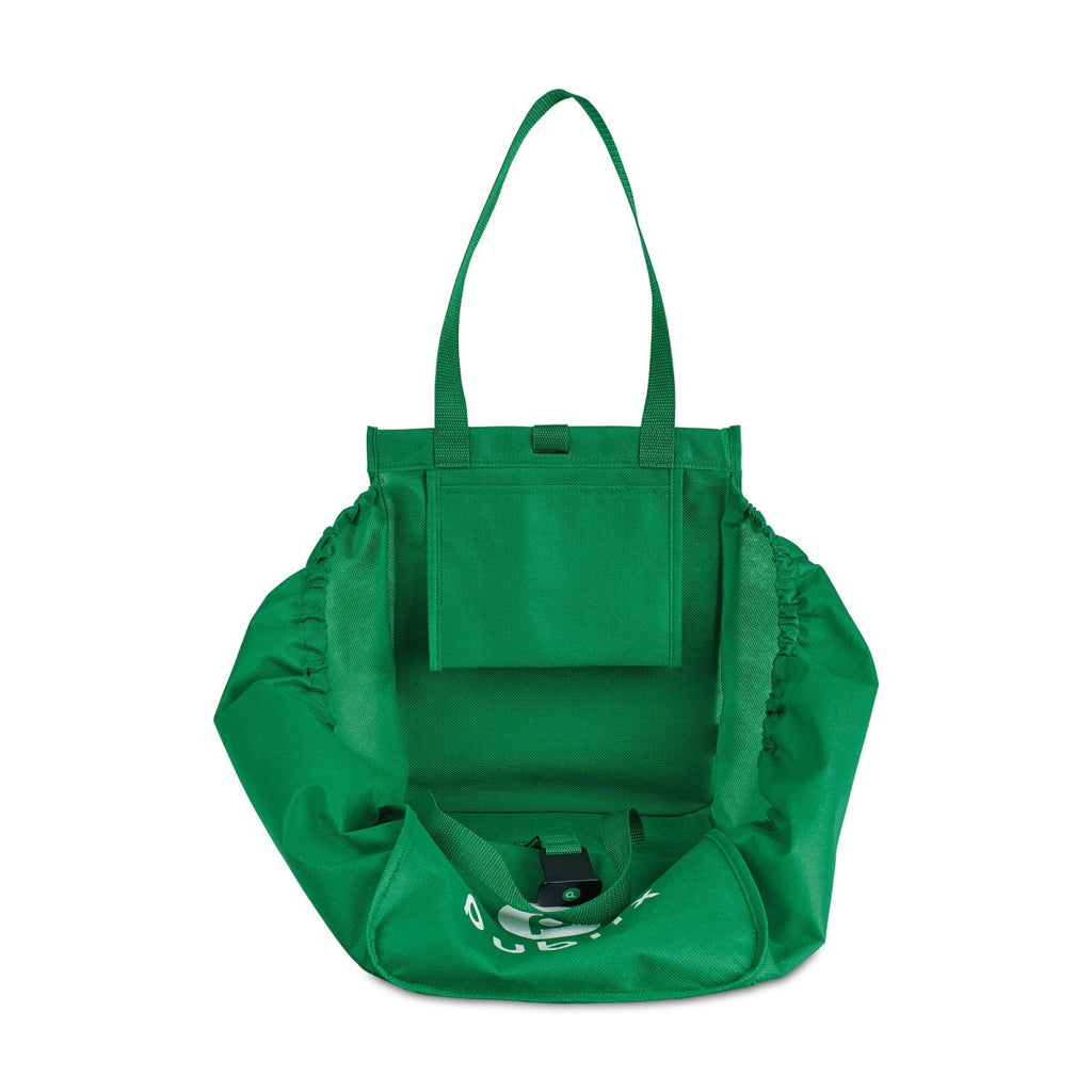 Gemline Kelly Green Companion Shopper Tote