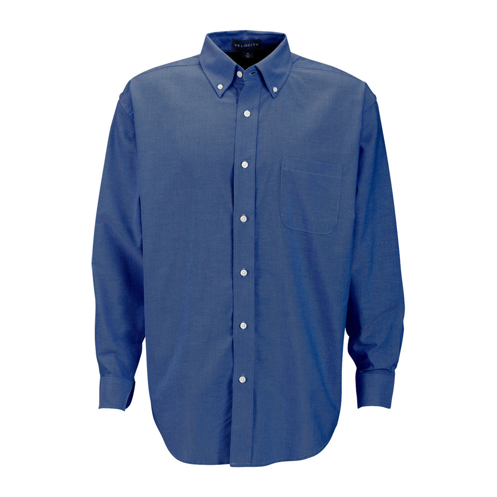 Vantage men 39 s french blue repel and release oxford shirt for French blue oxford shirt