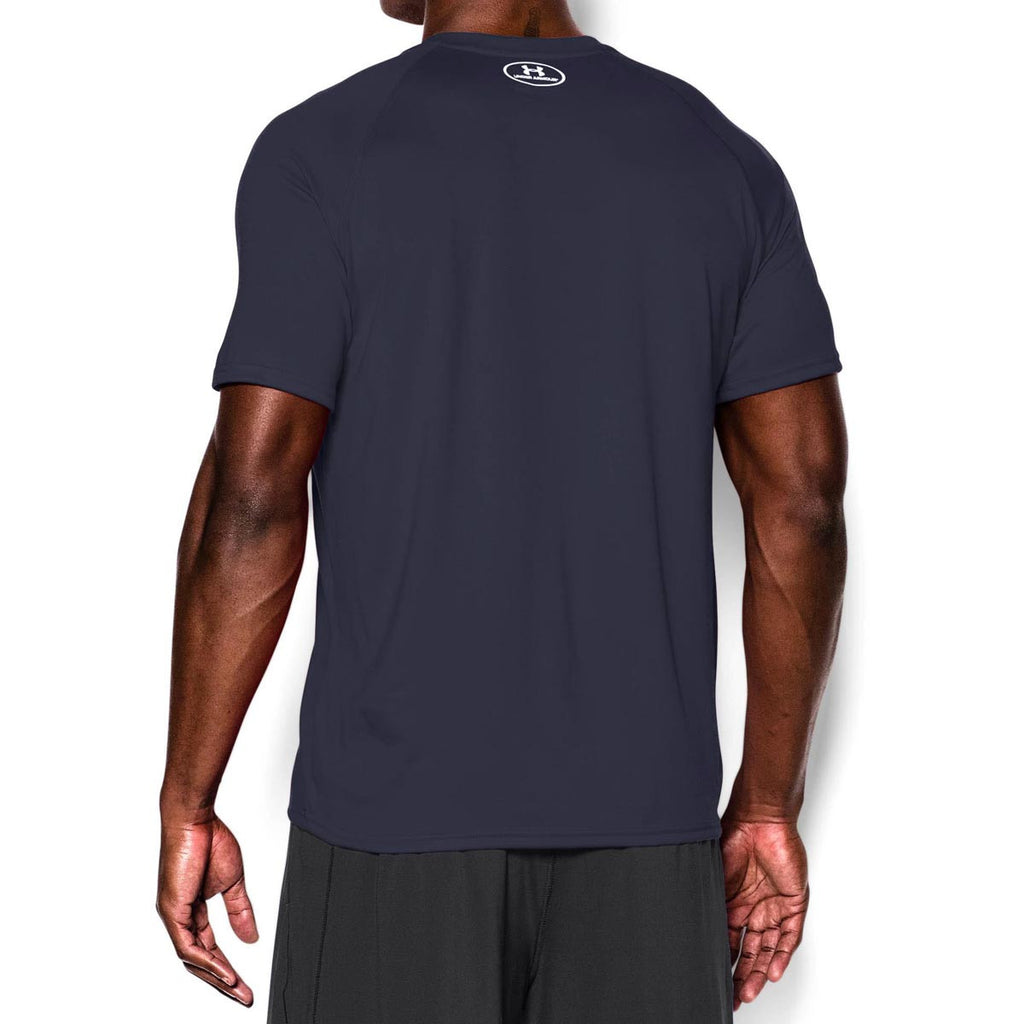 Under Armour Men's Midnight Navy/White Tech Short Sleeve T-Shirt