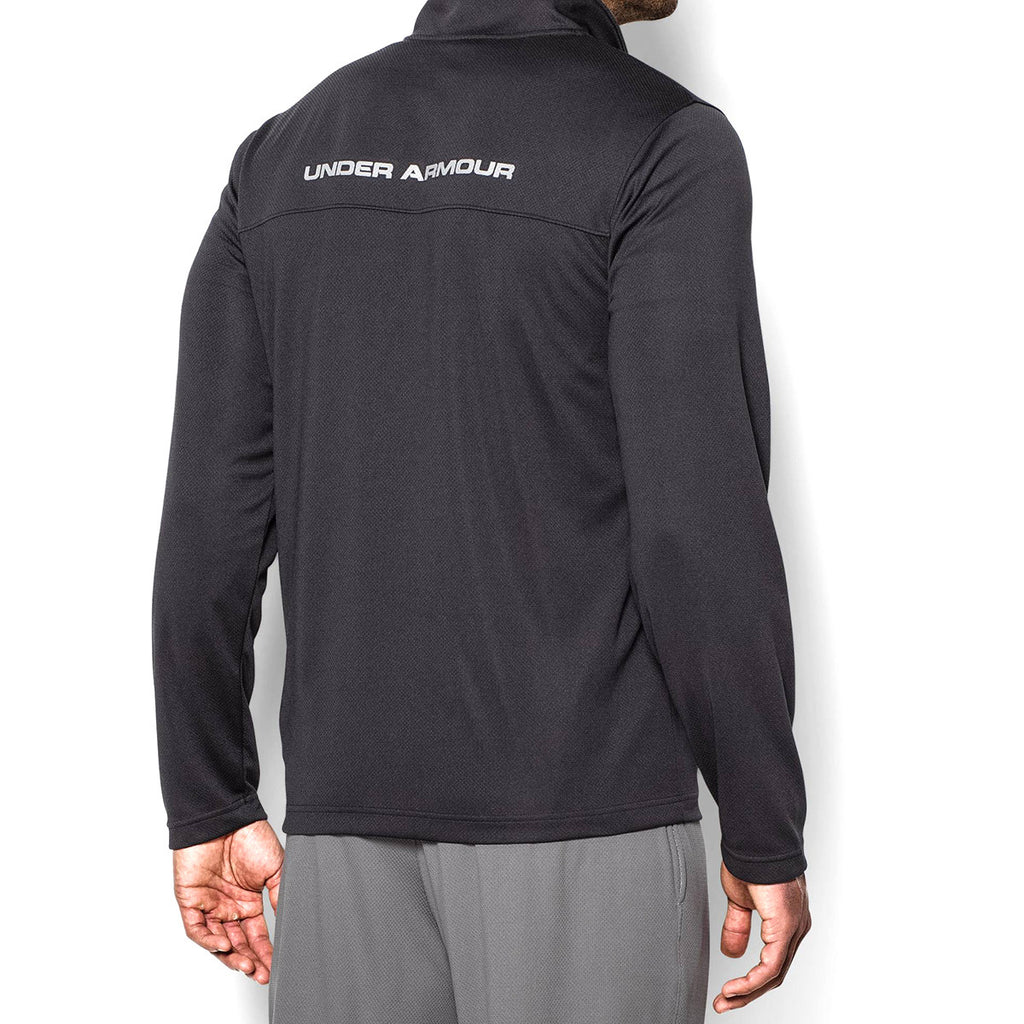 Under Armour Men's Black/Graphite UA Reflex Warm-Up Jacket