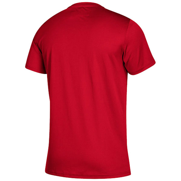 adidas Men's Power Red Clima Tech Tee