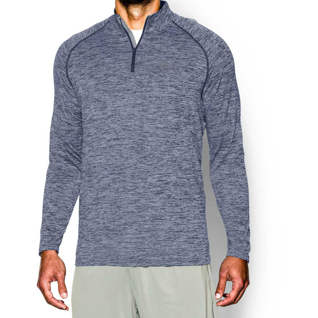 Under Armour Men's Academy/Steel Tech Quarter Zip