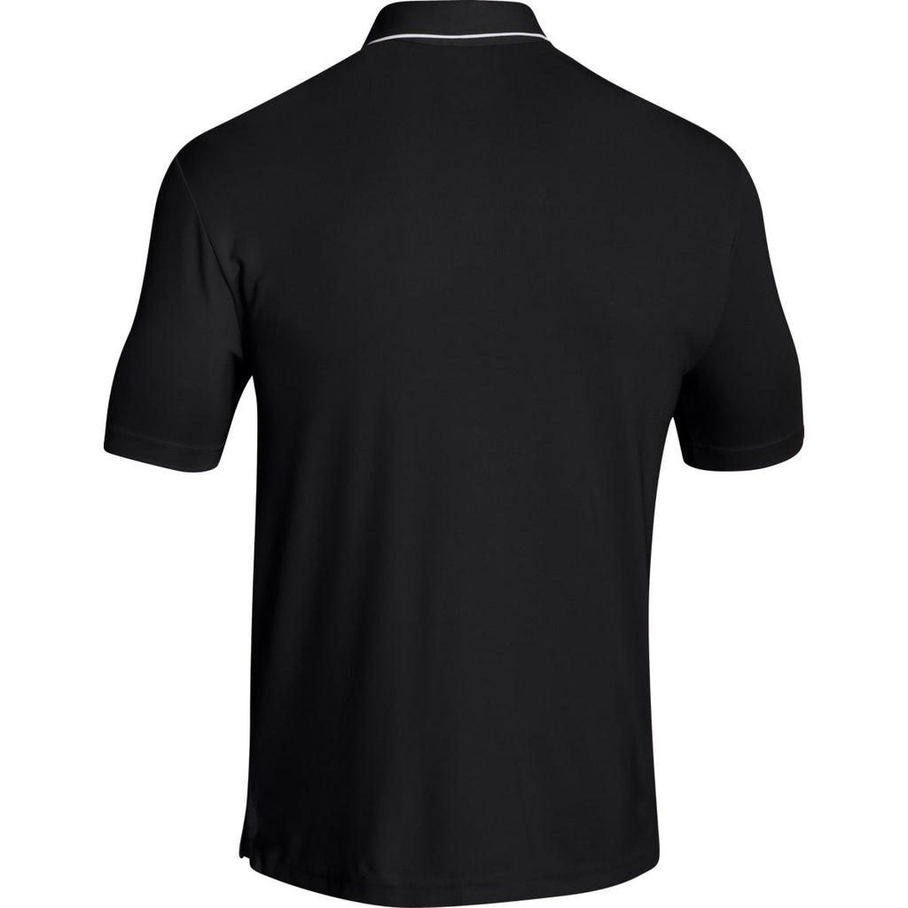 Under Armour Men's Black Conquest On Field Polo