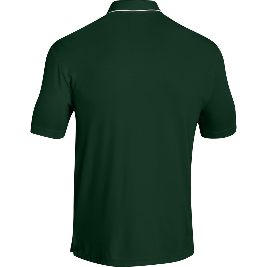 Under Armour Men's Green Conquest On Field Polo
