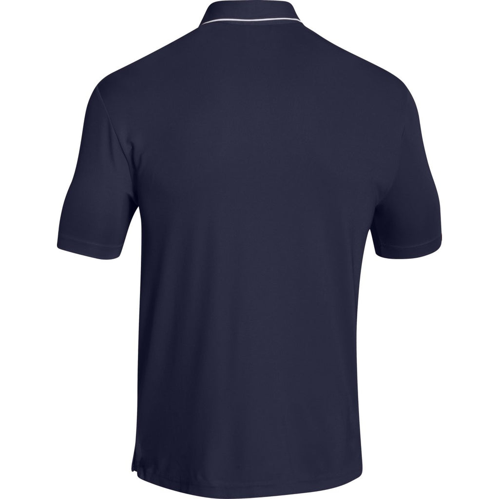 Under Armour Men's Navy Conquest On Field Polo