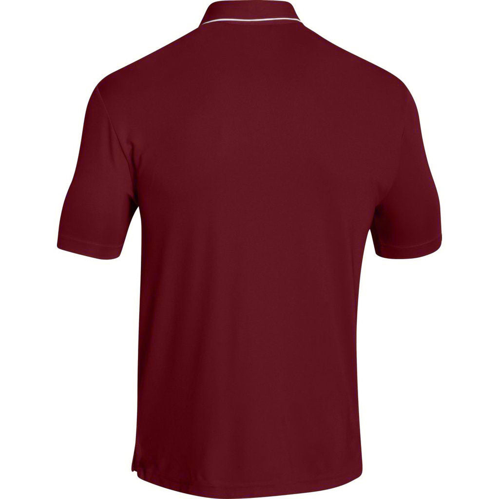 Under Armour Men's Cardinal Conquest On Field Polo