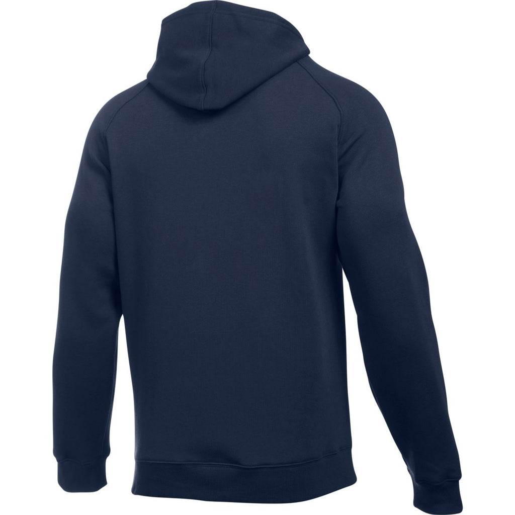 Under Armour Men's Midnight Navy Rival Fleece Hoodie
