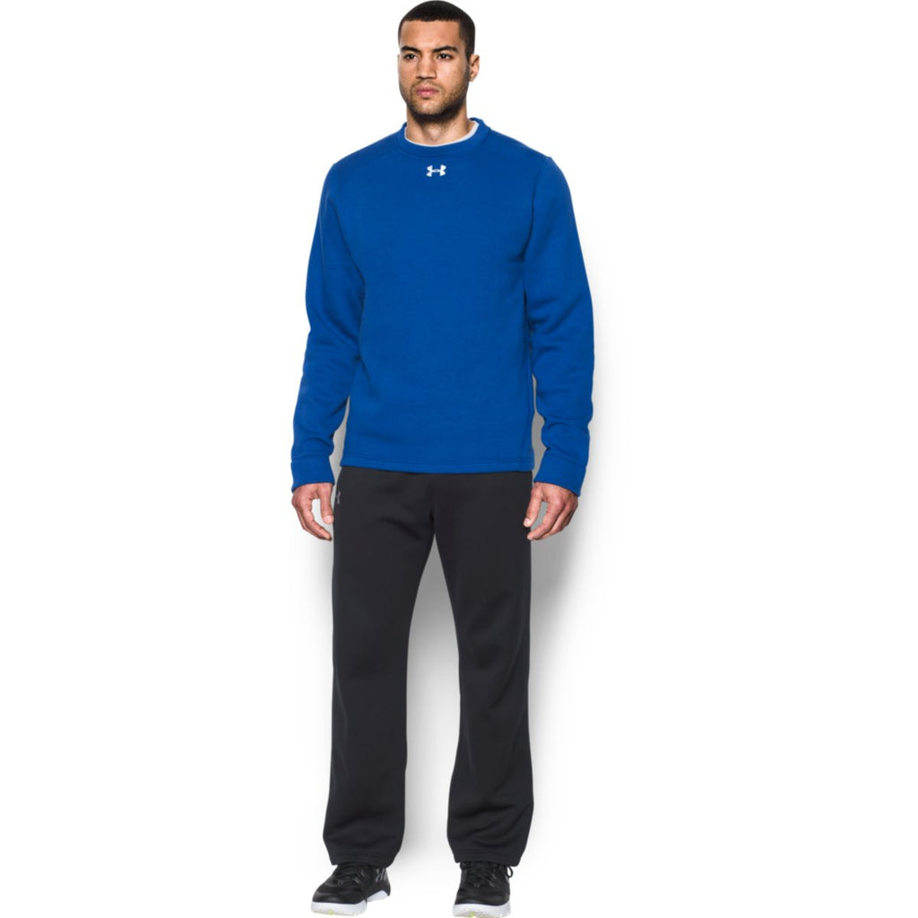 Under Armour Men's Royal Rival Fleece Crew
