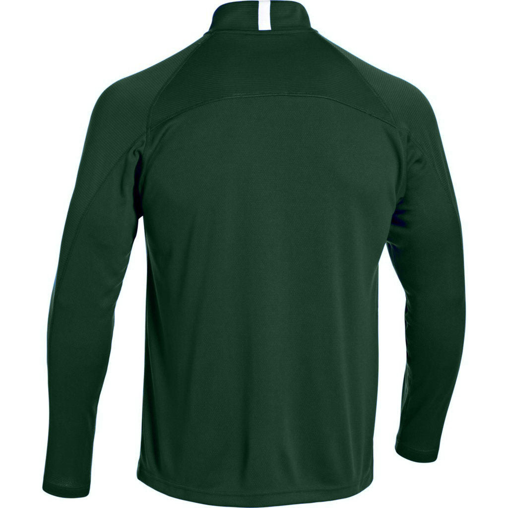 Under Armour Men's Forest Green Fitch Full Zip Jacket