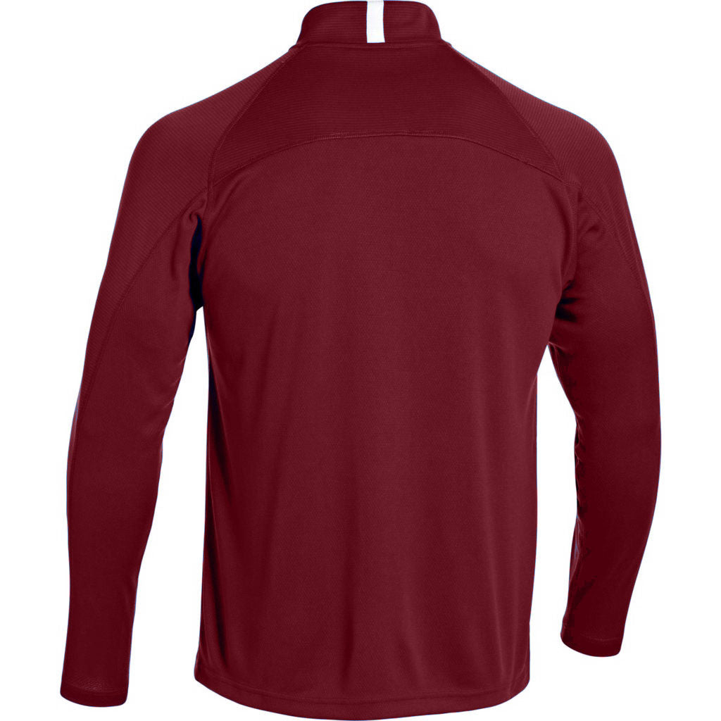Under Armour Men's Maroon Fitch Full Zip Jacket