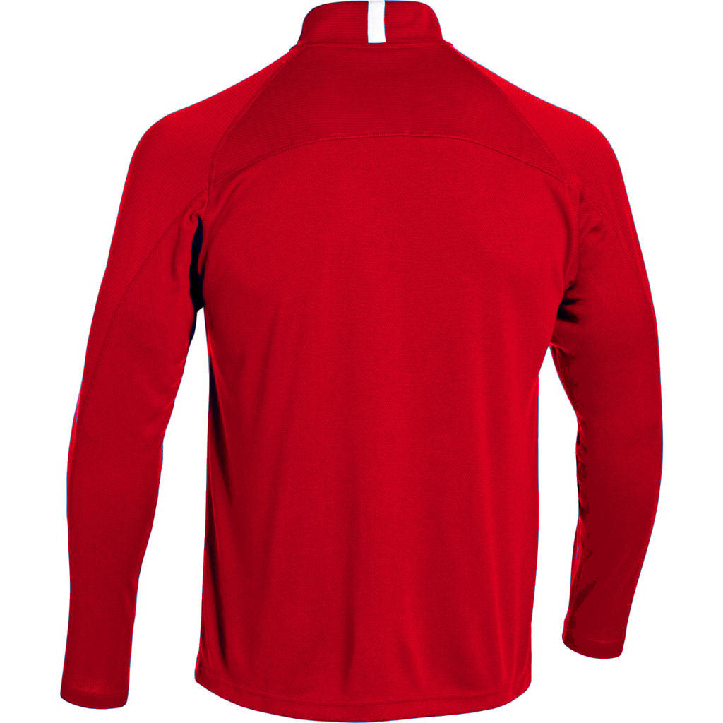 Under Armour Men's Red Fitch Full Zip Jacket