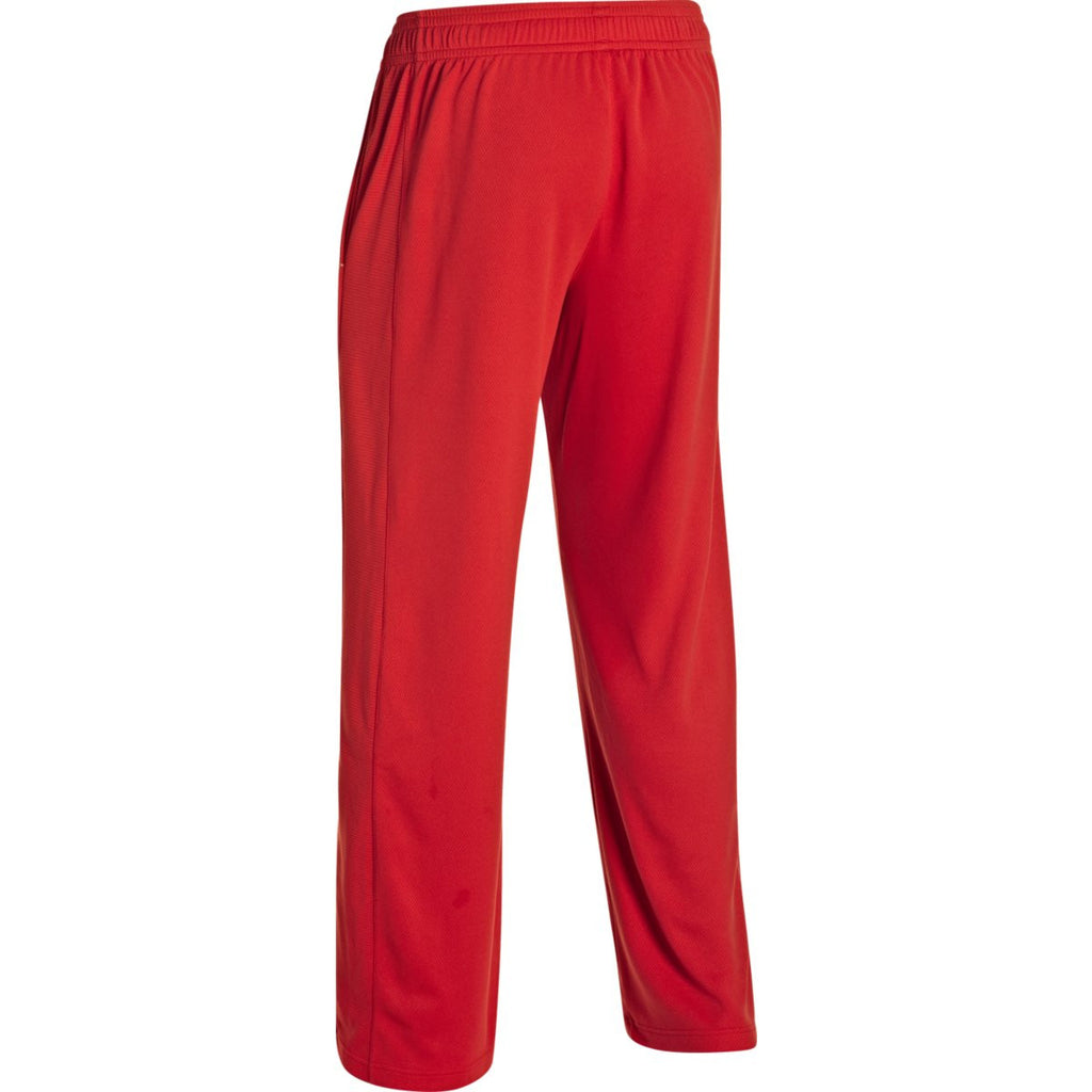 Under Armour Men's Red Fitch Warm Up Pant