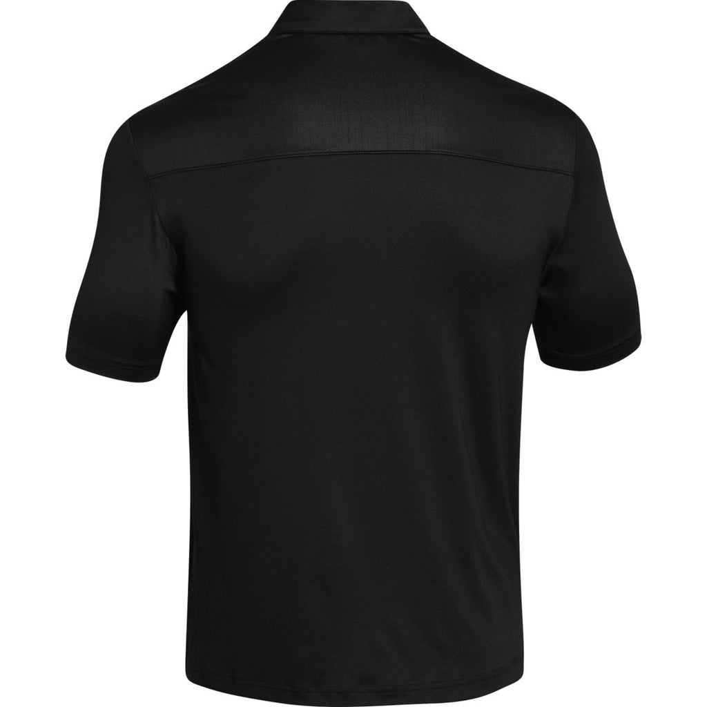 Under Armour Men's Black Ultimate Polo