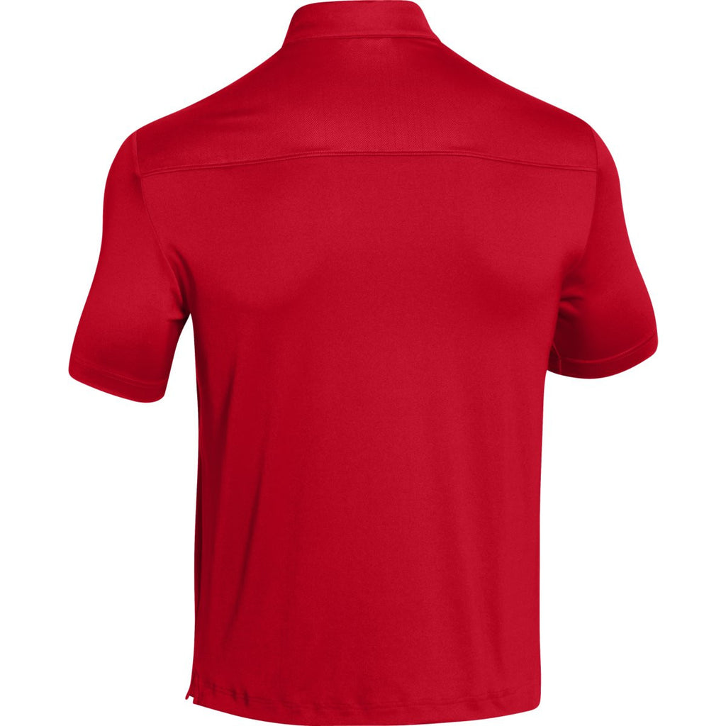 Under Armour Men's Red Ultimate Polo