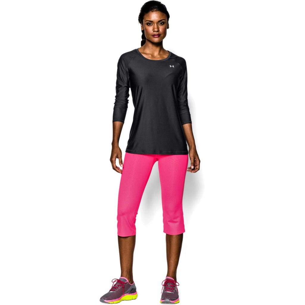 Under Armour Women's Black HeatGear Armour L/S