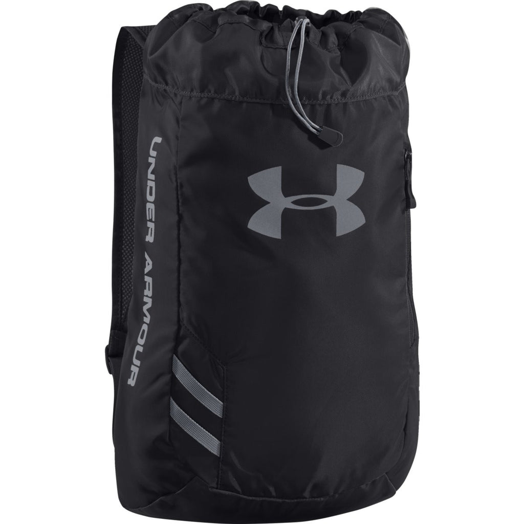 43b4b0e0ea Under Armour Black Trance Sackpack. ADD YOUR LOGO