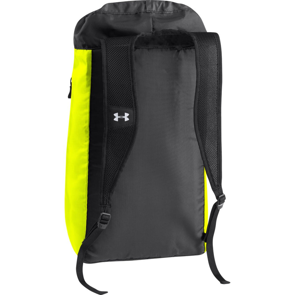 Under Armour High-Vis Yellow Trance Sackpack