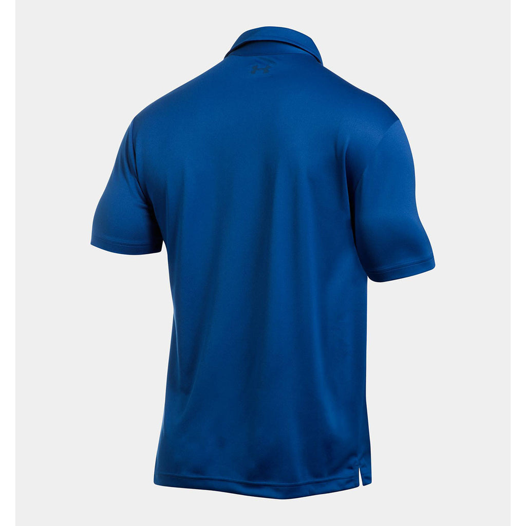 Under Armour Men's Royal UA Leaderboard Polo