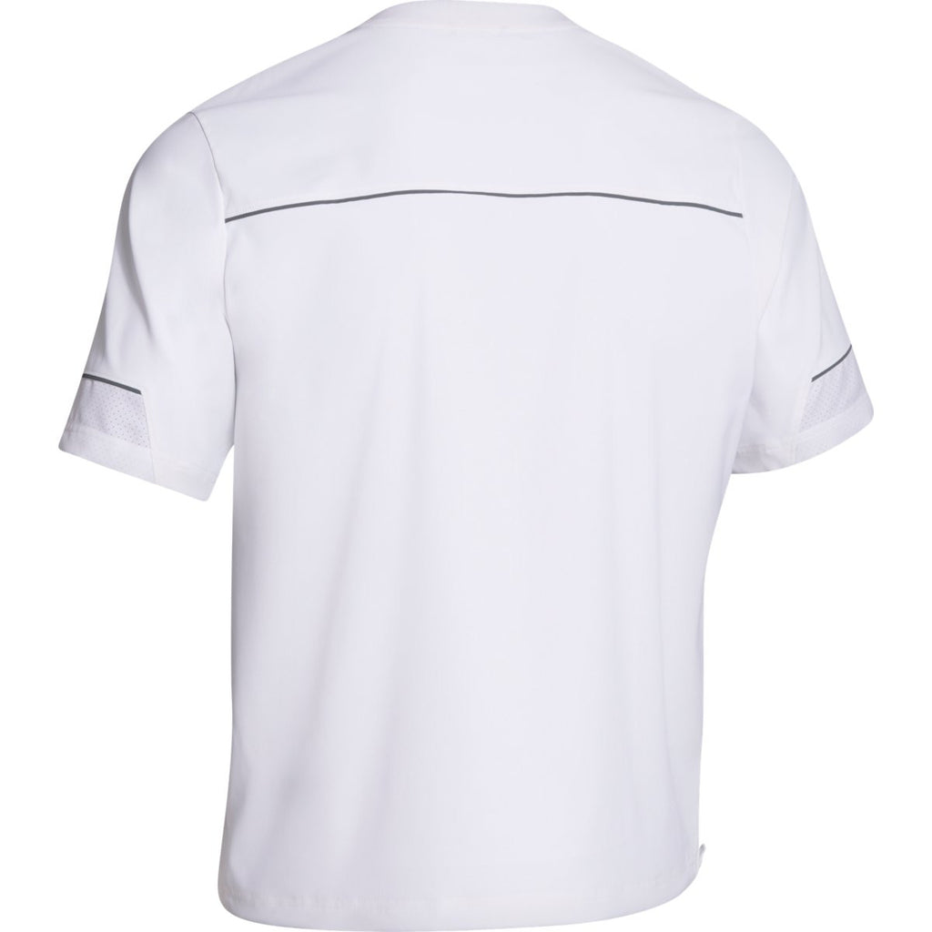 Under Armour Men's White Team Ultimate S/S Cage Jacket