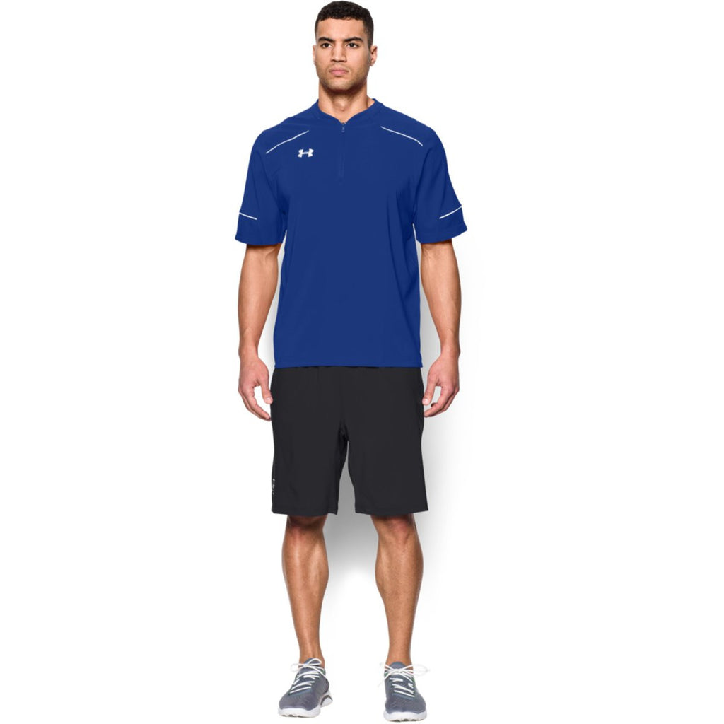 Under Armour Men's Royal Team Ultimate S/S Cage Jacket