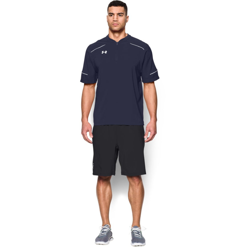 Under Armour Men's Navy Team Ultimate S/S Cage Jacket