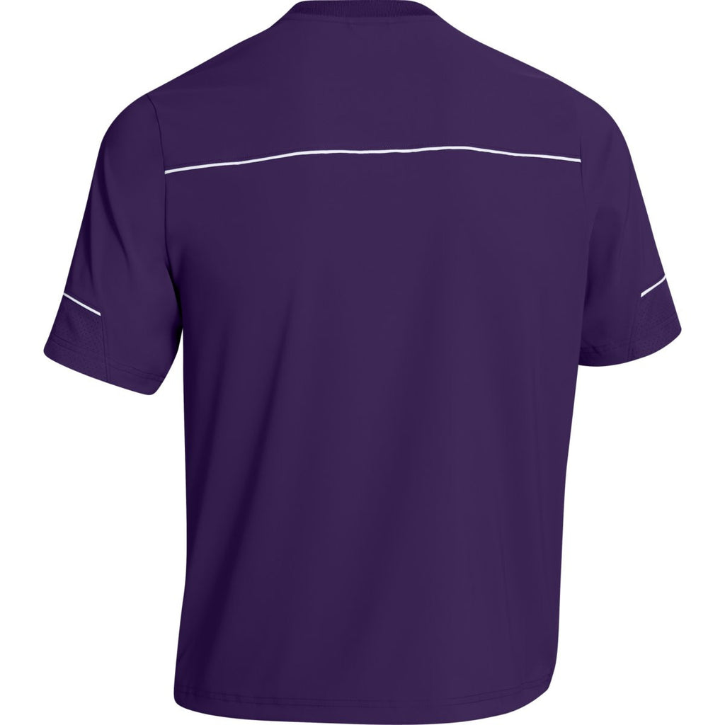 Under Armour Men's Purple Team Ultimate S/S Cage Jacket
