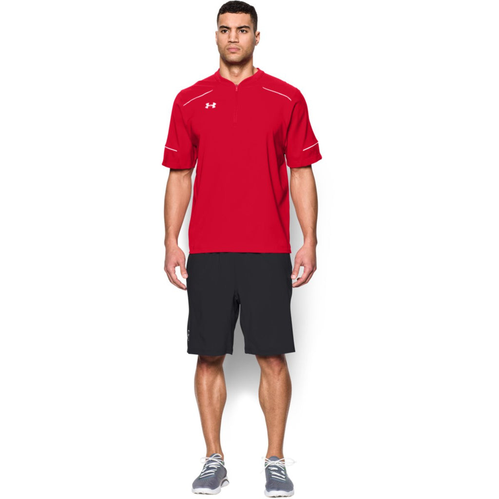Under Armour Men's Red Team Ultimate S/S Cage Jacket