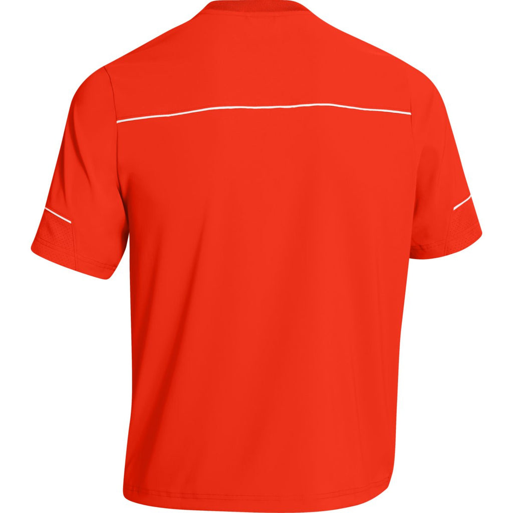 Under Armour Men's Orange Team Ultimate S/S Cage Jacket