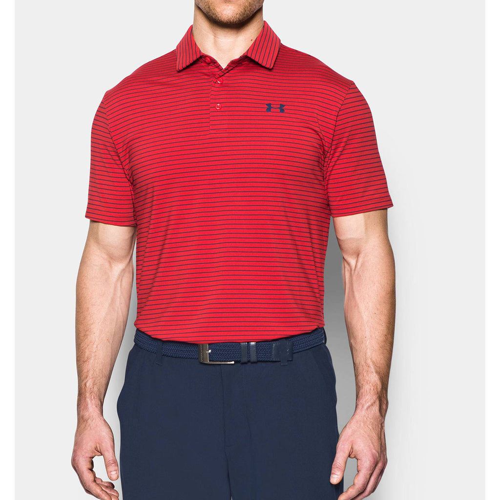 d31063d04b43 Under Armour Men's Red UA Playoff Polo