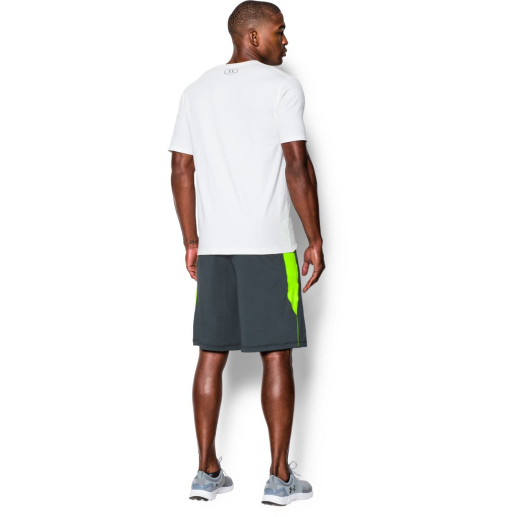 Under Armour Men's Steel Grey Raid Shorts