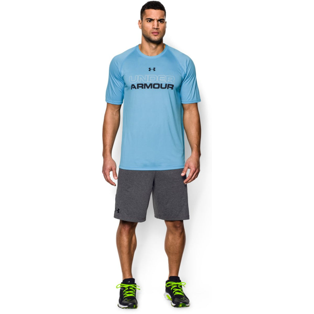Under Armour Men's Carbon Heather Raid Shorts