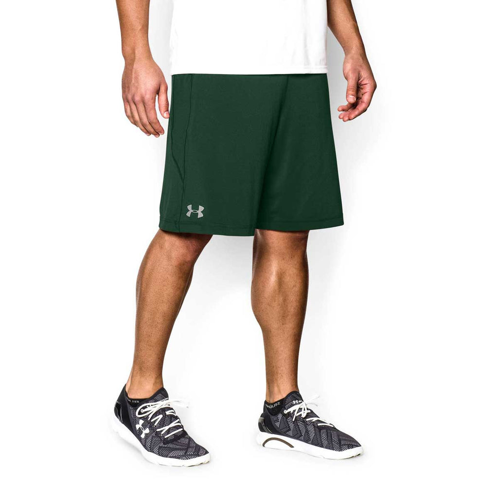 Under Armour Men's Forest Green Raid Shorts