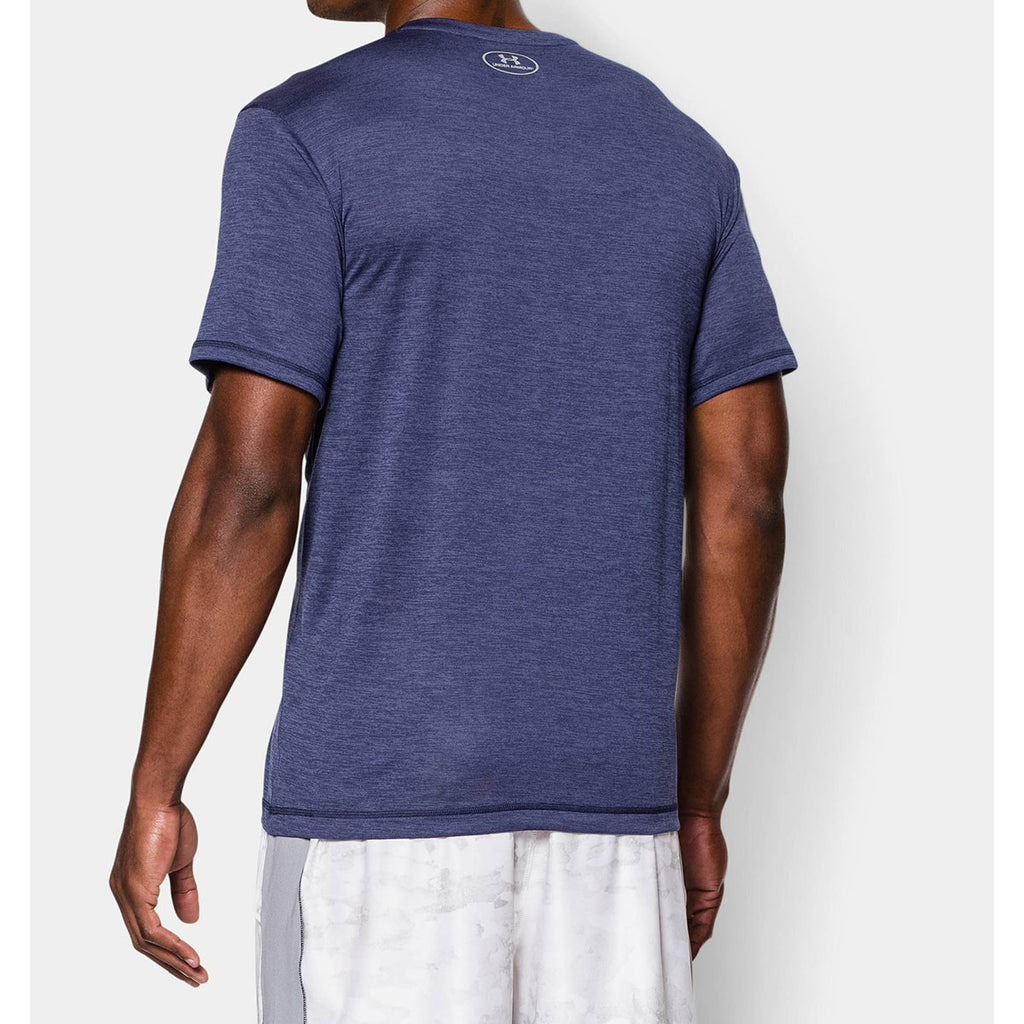 Under Armour Men's Midnight Navy UA Tech VNeck T-Shirt