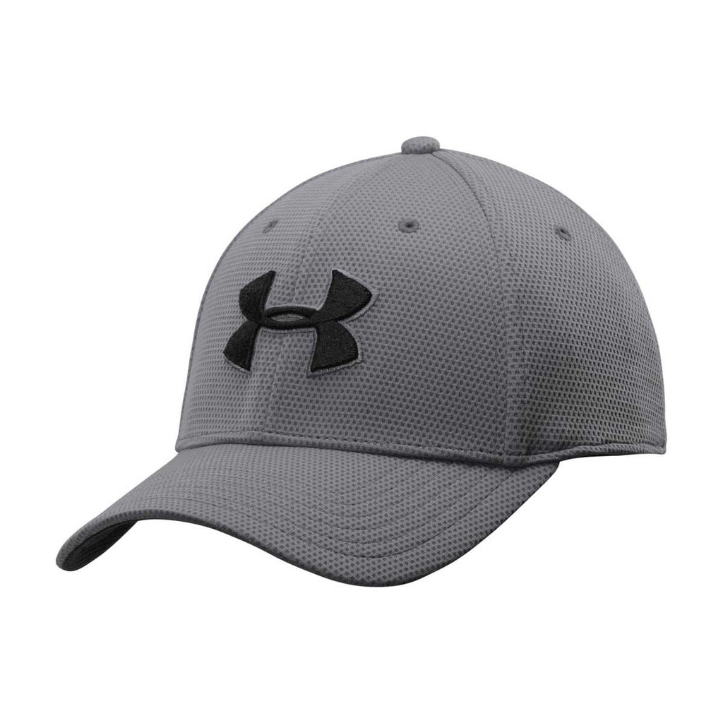 a79429c40c4 Under Armour Men s Graphite Blitzing II Stretch Fit Cap. ADD YOUR LOGO