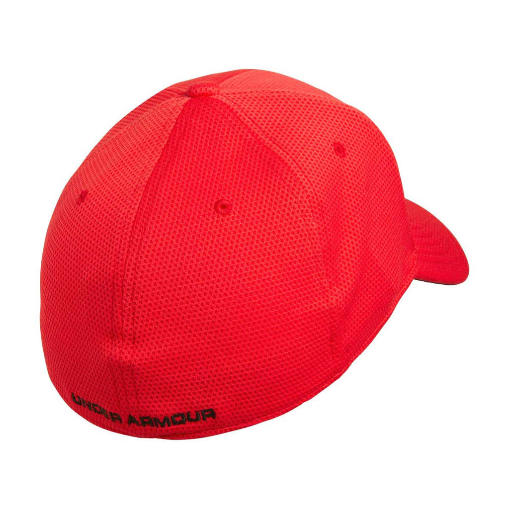 Under Armour Men's Red Blitzing II Stretch Fit Cap