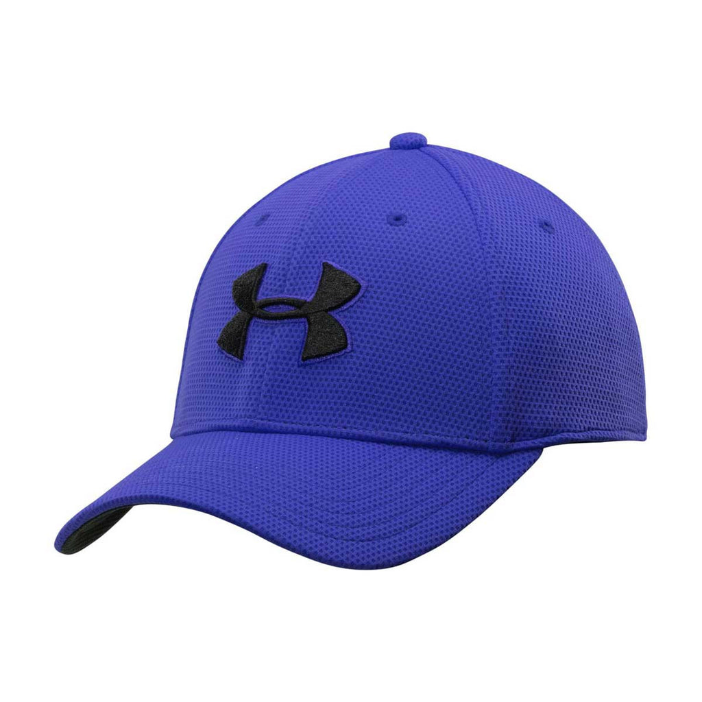 Under Armour Men s Royal Blitzing II Stretch Fit Cap. ADD YOUR LOGO 8994f6630337