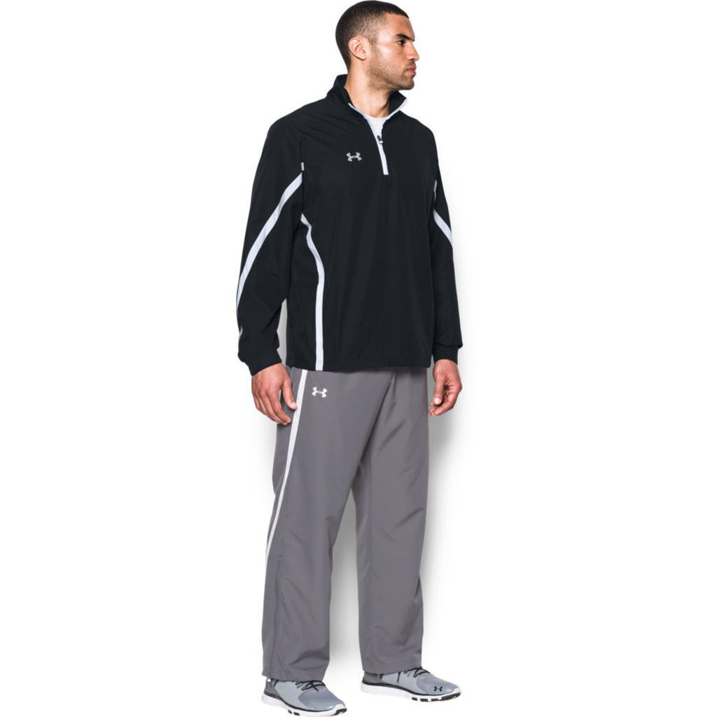 Under Armour Men's Black Essential Quarter Zip