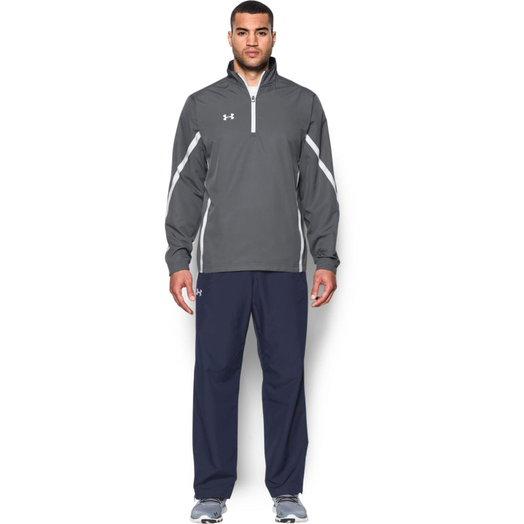 Under Armour Men's Graphite Essential Quarter Zip