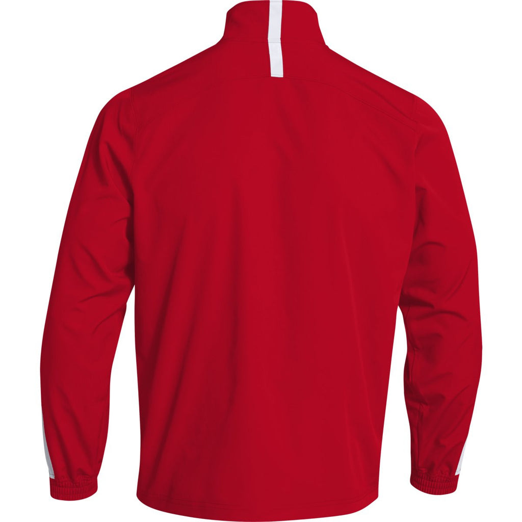 Under Armour Men's Red Essential Quarter Zip