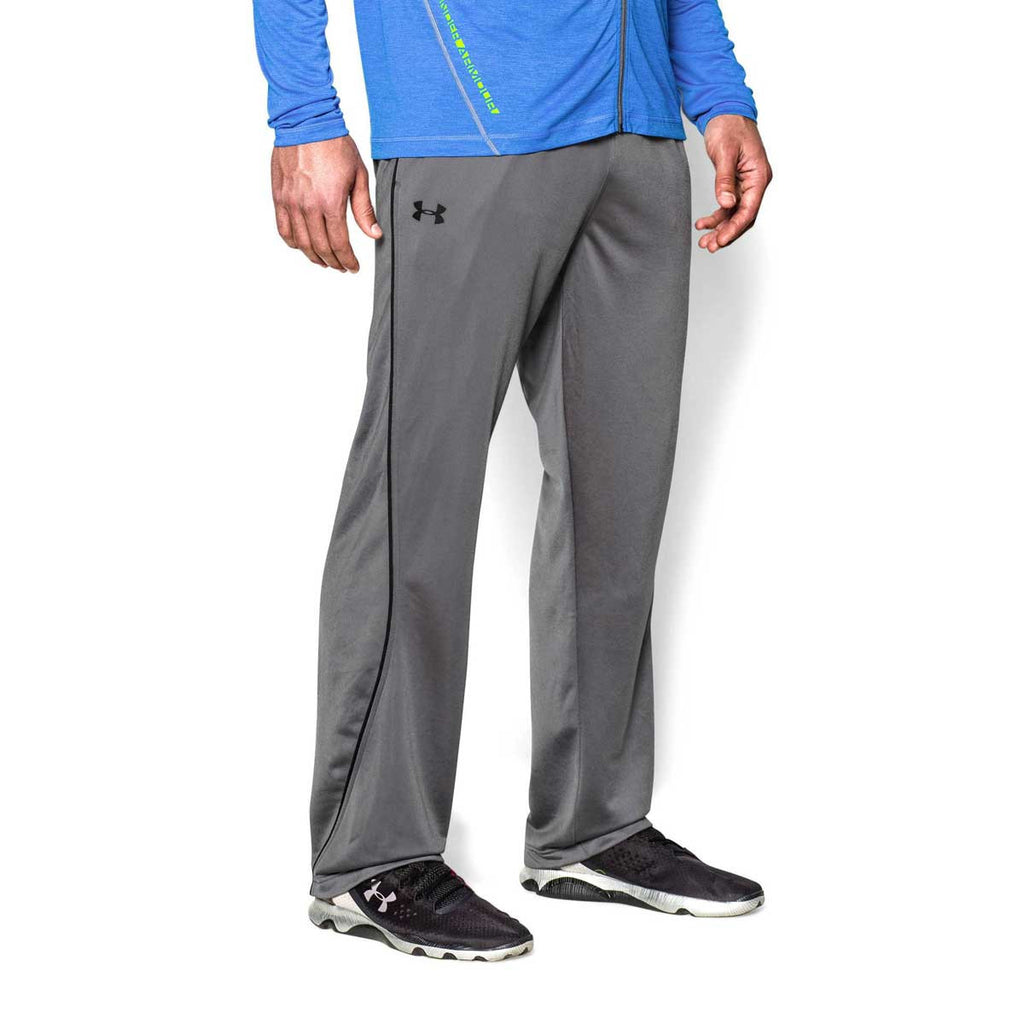 Under Armour Men's Graphite Relentless Straight Leg Warm-Up Pants