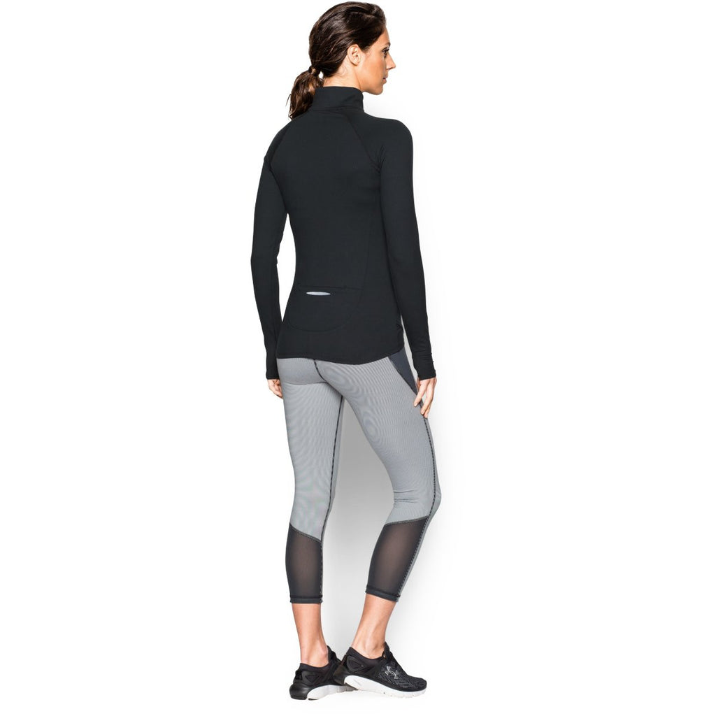 Under Armour Women's Black UA Fly Fast Half Zip
