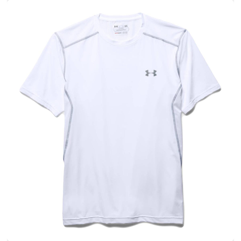 white short sleeve under armour