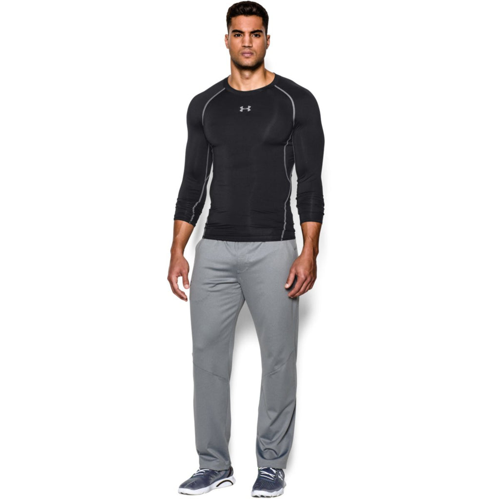 Under Armour Men's Black HeatGear Armour L/S Compression Shirt