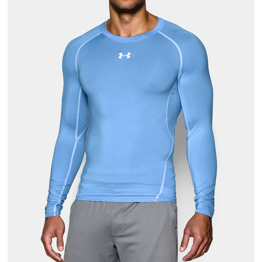 6a07db67 Under Armour Men's Carolina Blue HeatGear Armour L/S Compression Shirt