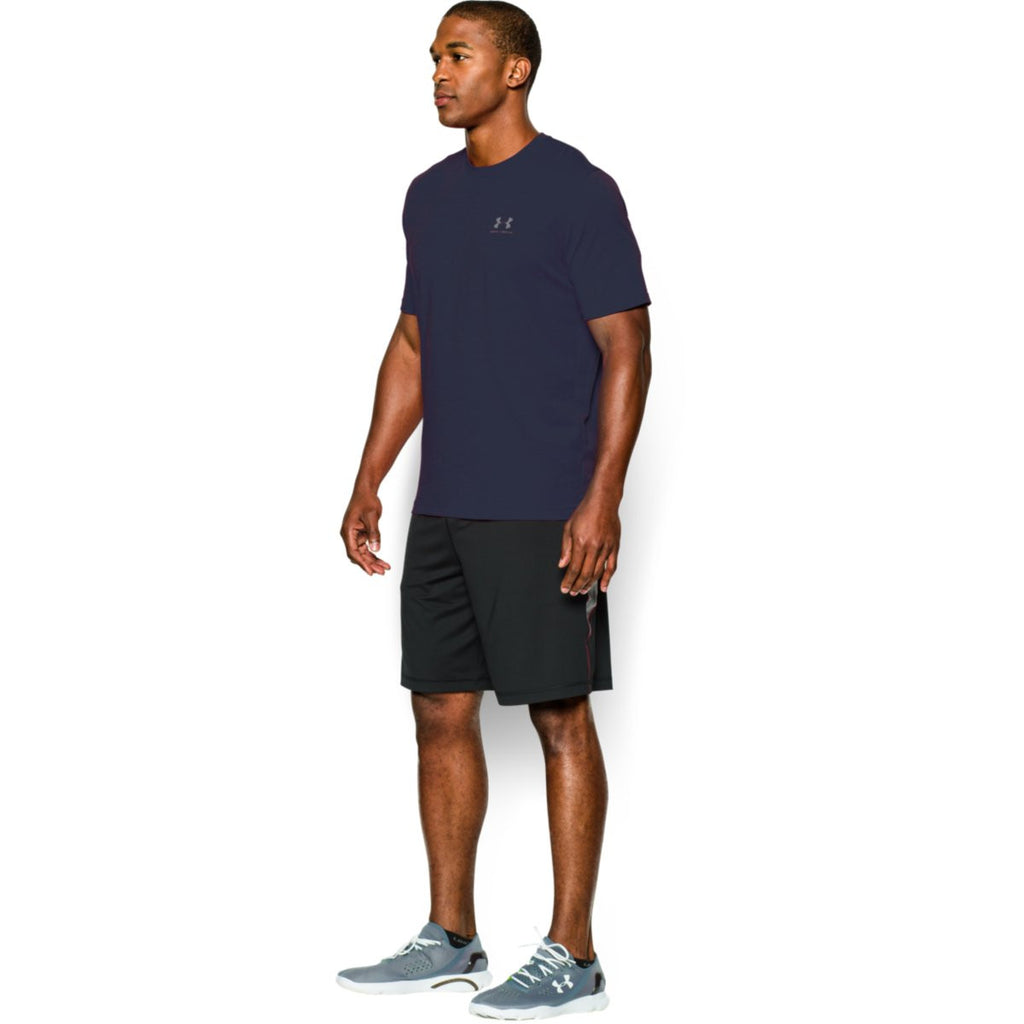 Under Armour Men's Navy Charged Cotton Sportstyle T-Shirt