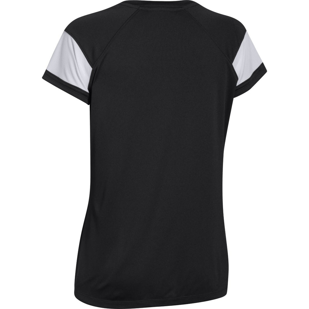 Under Armour Women's Black Zone S/S T-Shirt
