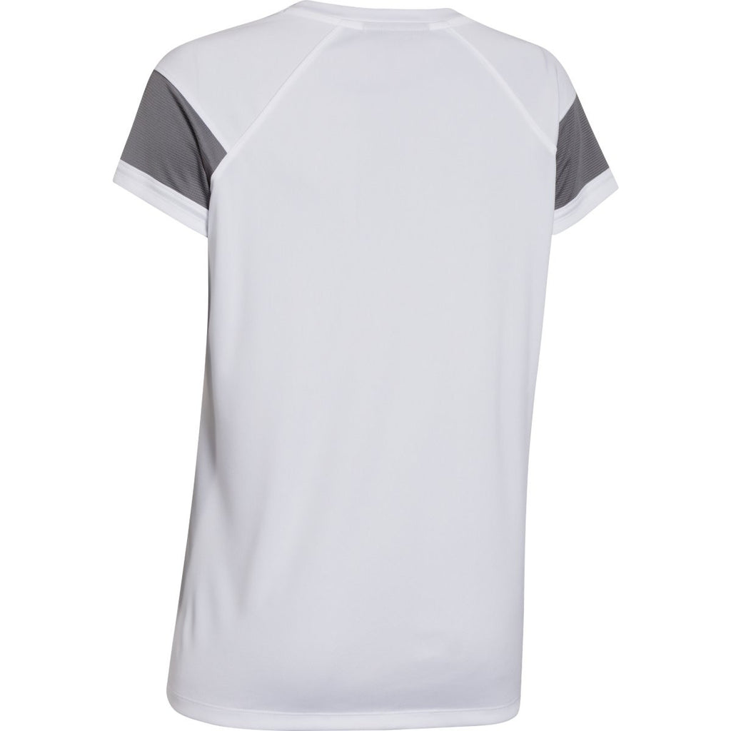 Under Armour Women's White Zone S/S T-Shirt